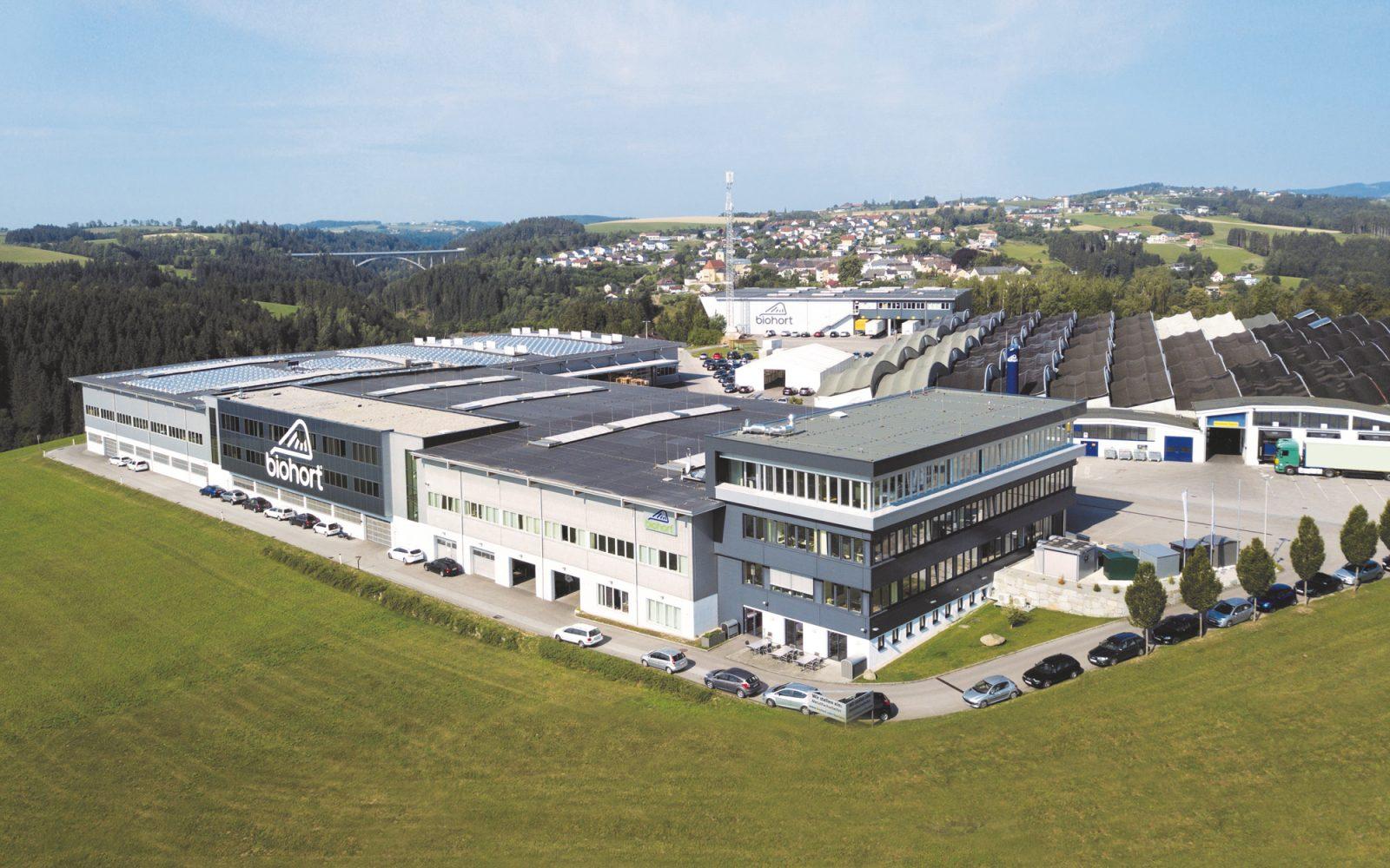 Luftaufnahme Firma Biohort GmbH